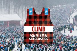 Nu införs en bergspristävling på toppen av Vasaloppets startbacke i Visma Ski Classics.