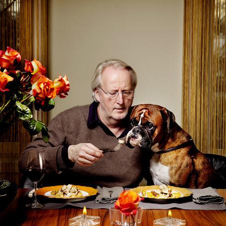 Agnete Brun er blant fotografene du kan møte på årets Photocamp. Her med sitt bilde av Eivind Hellstrøm og Nelson.