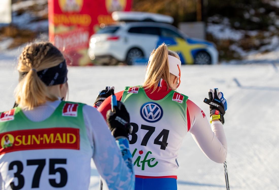 Många unga och hungriga längdåkare kommer till Bruksvallsloppet till 16-17 november. FOTO: Jocke Lagercrantz.
