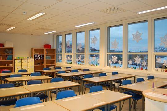 Klasserom Straumen skole