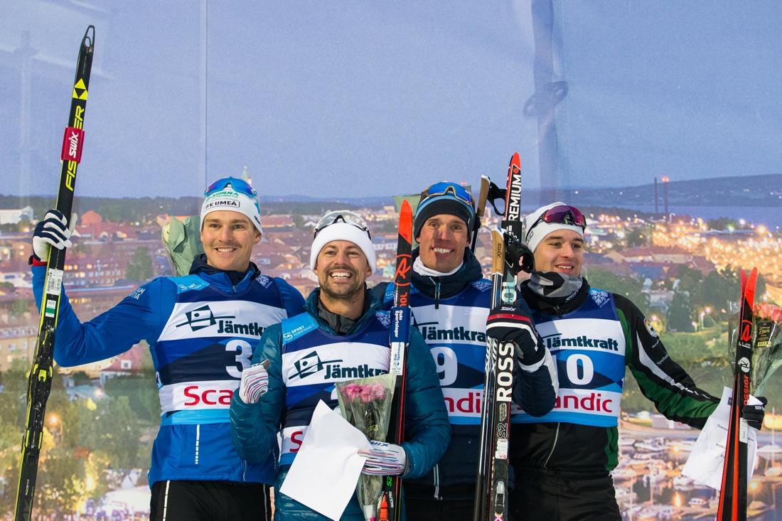 Marcus Grate, Ludvig Jensen, Ragnar Bragvin Andresen och Johannes HortlundFOTO: Bildbyrån/Johan Axelsson.
