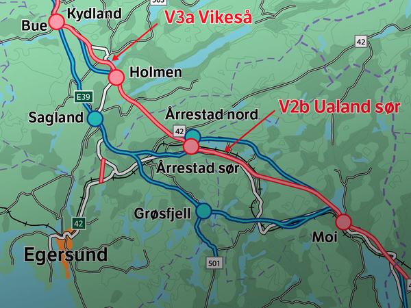Kart over E39