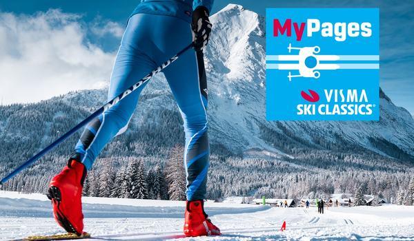 Idag lanserar Visma Ski Classics My Pages för både proffs och motionärer. FOTO: Visma Ski Classics.