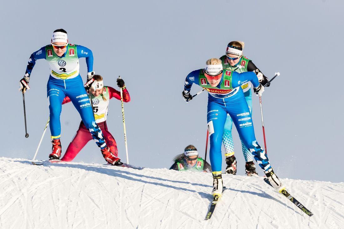 I helgen kommer närmare 600 längdåkare till start på Bruksvallsloppet. FOTO: Jocke Lagercrantz.