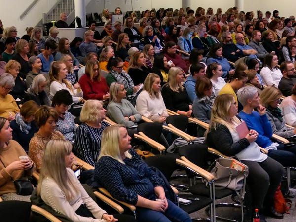 Konferanse på Egersund arena