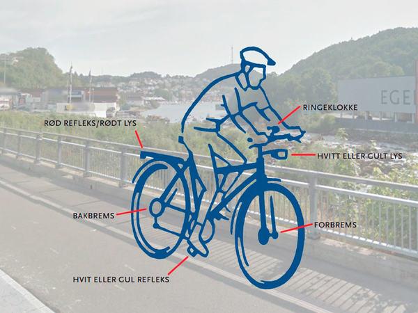 Sykkel i Egersund