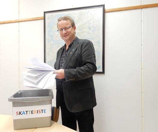 Ordfører med skattekiste