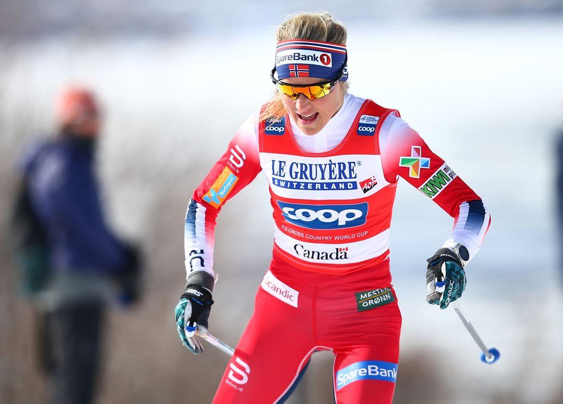 Therese Johaug vann halvminuten före Heidi Weng på dagens fristilslopp i Beitostölen. FOTO: GEPA Pictures/CH Kelemen/Bildbyrån.