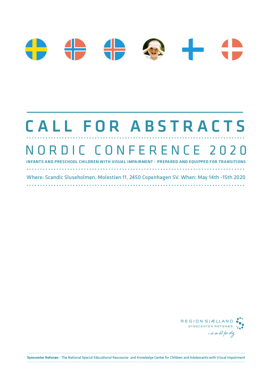 Omslagsbilde til Call for abstracts Nordic conference 2020