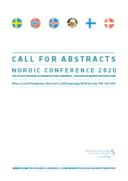 Lite bilde av forsiden på Call for abstracts for Nordic conference 2020