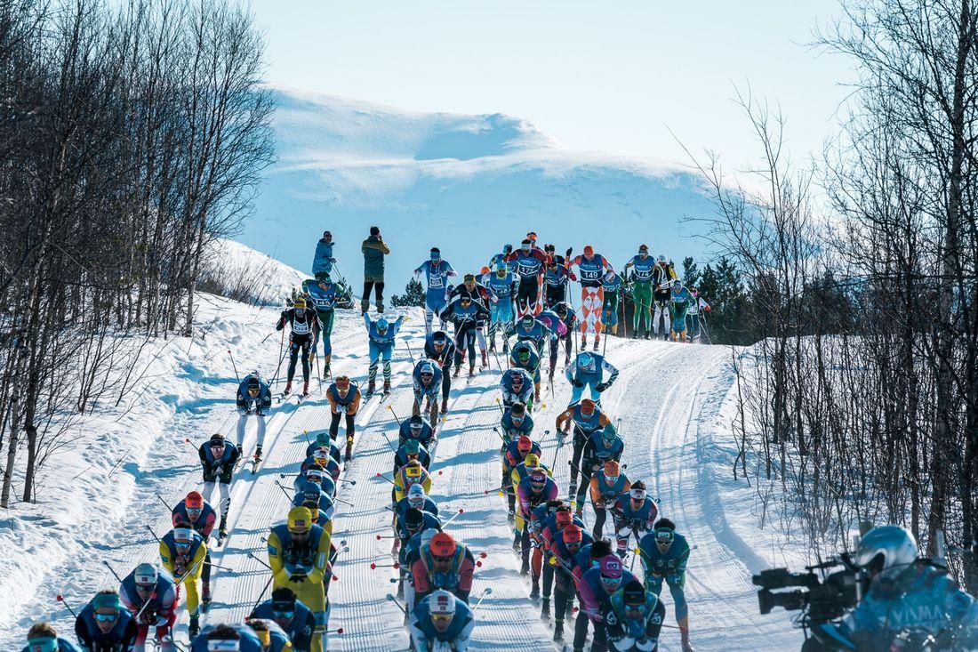 Mer än 500 000 euro delas ut i prispengar under Visma Ski Classics i vinter. FOTO: Visma Ski Classics.