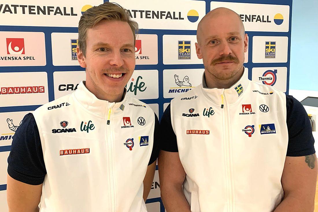 Fredrik Uusitalo och Mattias Nilsson lämnar uppdraget som tränare i landslaget. FOTO: Johan Trygg/Längd.se.