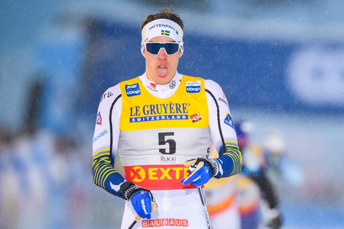 Johan Häggström fick en bra start på minitouren. FOTO: Bildbyrån/Carl Sandin.