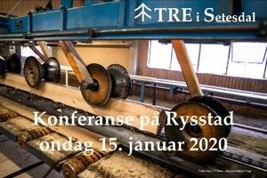 Logo: Konferanse Tre i Setesdal 15. januar 2020