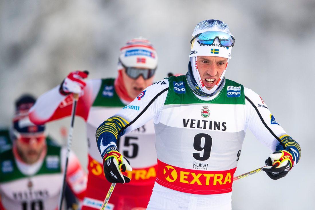 Calle Halfvarsson slutade nia på jaktstarten i Ruka. FOTO: Bildbyrån/Carl Sandin.