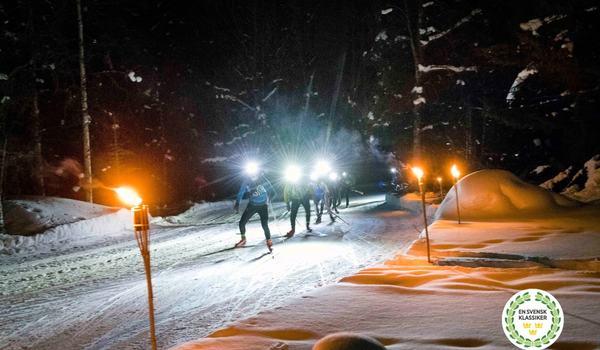 Från och med i vinter kommer Nattvasan att räknas som ett delmoment i En Svensk Klassiker. FOTO: Vasaloppet.