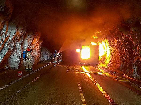 Øvelse brann- og redning