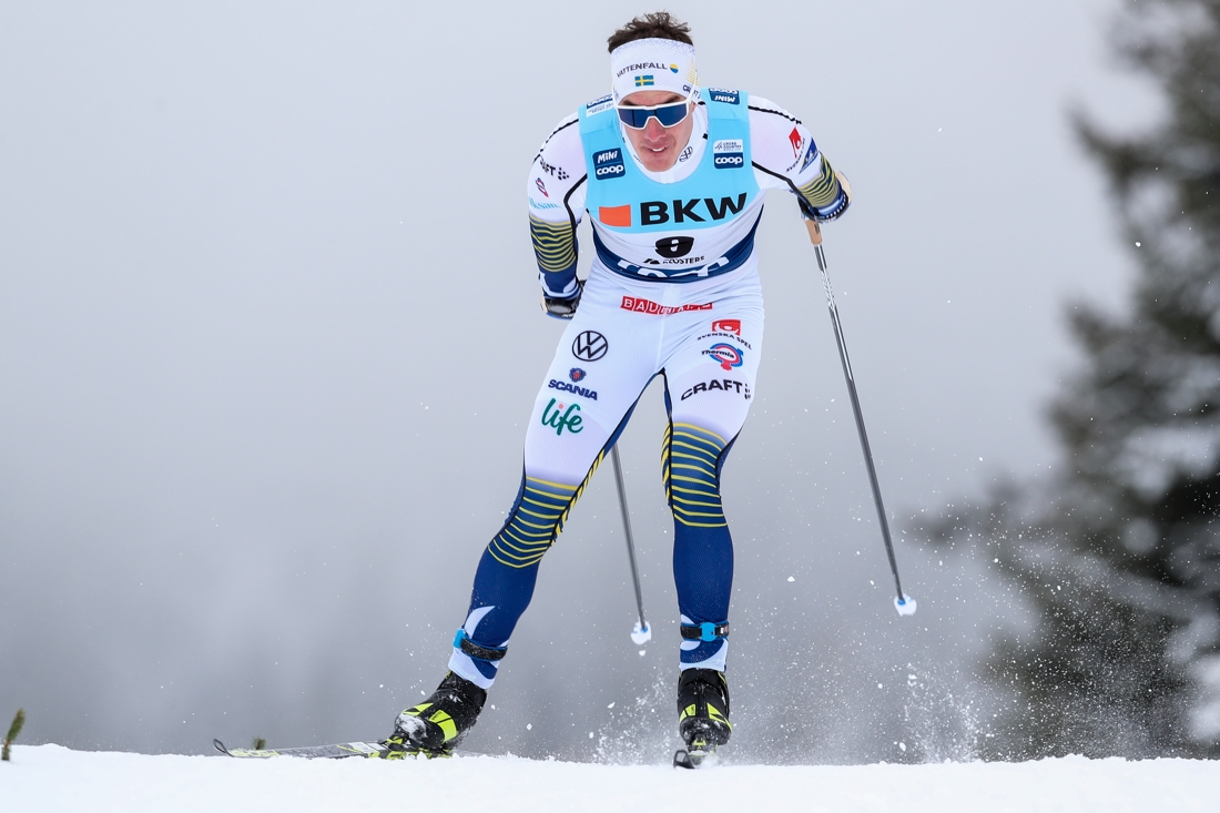 Johan Häggström var snubblande nära final i Davos. FOTO: Bildbyrån - GEPA PICTURES/PAtrick Steiner.