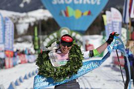 Justyna Kovalczyk kommer tillbaka till Gsiesertal Lauf för att försvara sin seger från förra vintern. FOTO: Gsiesertal Lauf.