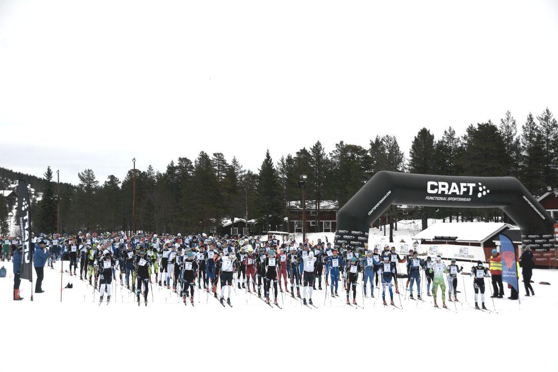Det blir deltagarrekord när sjunde upplagan av Craft Ski Marathon avgörs i Grönklittsterrängen på söndag.