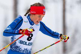 Anna Dyvik åkte in sig i världscuplaget till Nove Mesto med sin seger i Skandinaviska cupen i Norge. FOTO: Bildbyrån/Mathias Bergeld.