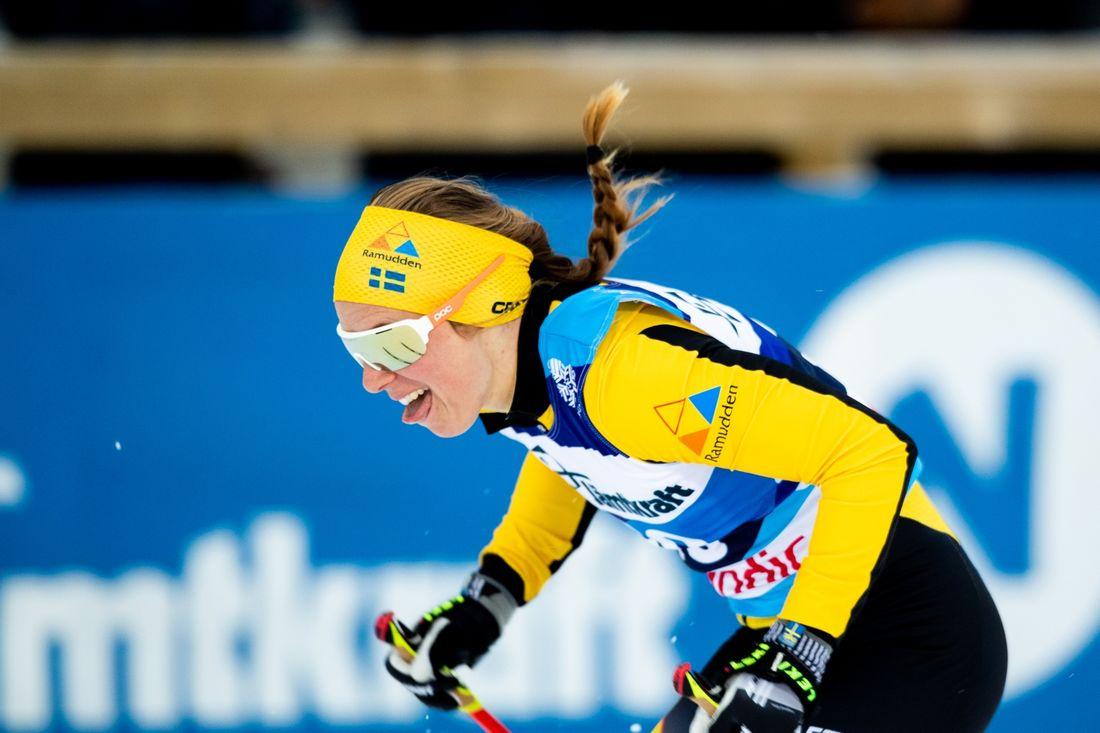 Lina Korsgren vann Föllingeloppet i överlägsen stil i söndags. FOTO: Bildbyrån/Johan Axelsson.