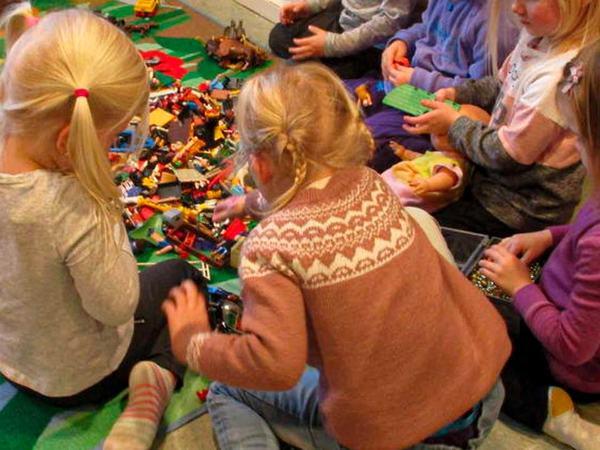 Lek i barnehagen