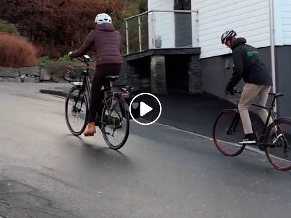 El-sykkel i eigersund