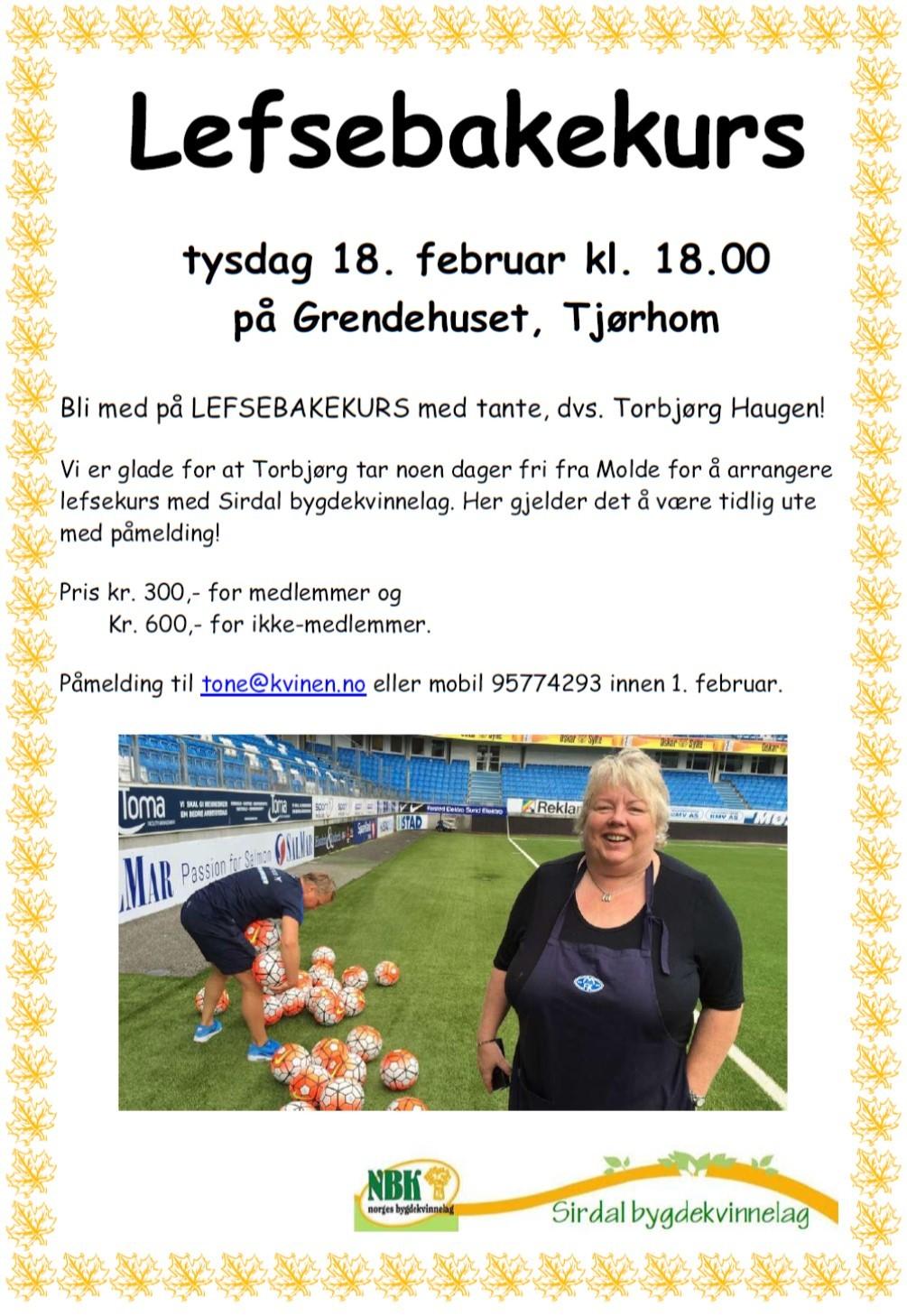 Bildeplakat Bygdekvinnelaget Lefsebakekurs.jpg