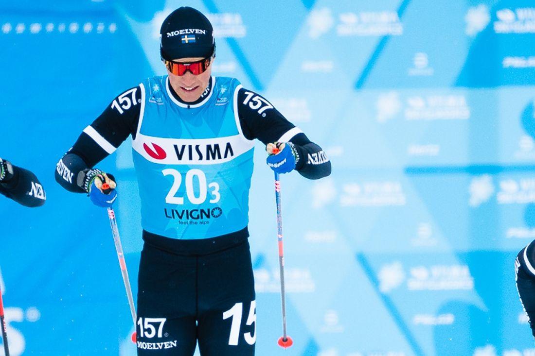 Andreas Holmberg kommer till start på Östersund Ski Marathon och hör tillsammans med Erik Melin Söderström till favoriterna. FOTO: Visma Ski Classics.
