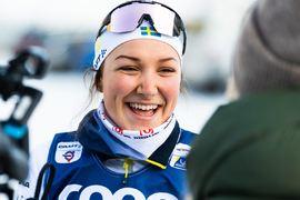 Moa Lundgren slutade fin åtta på världscupen i Nove Mesto, Tjeckien. FOTO: Bildbyrån/Mathias Bergeld.