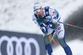 Veteranen Daniel Rickardsson var bäste svensk i Nove Mesto på 25:e plats. FOTO: Bildbyrån - GEPA PICTURES/Philipp Brem.