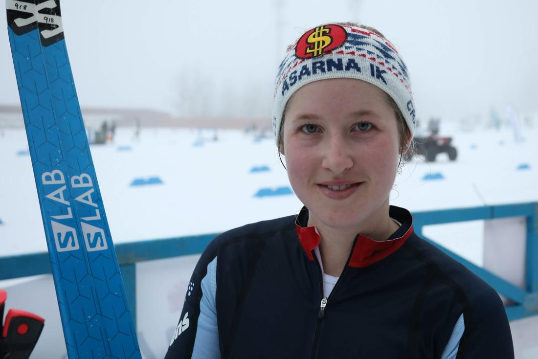 Frida Hallqvist tog en storseger i damklassen. FOTO: Mikael Hedström.