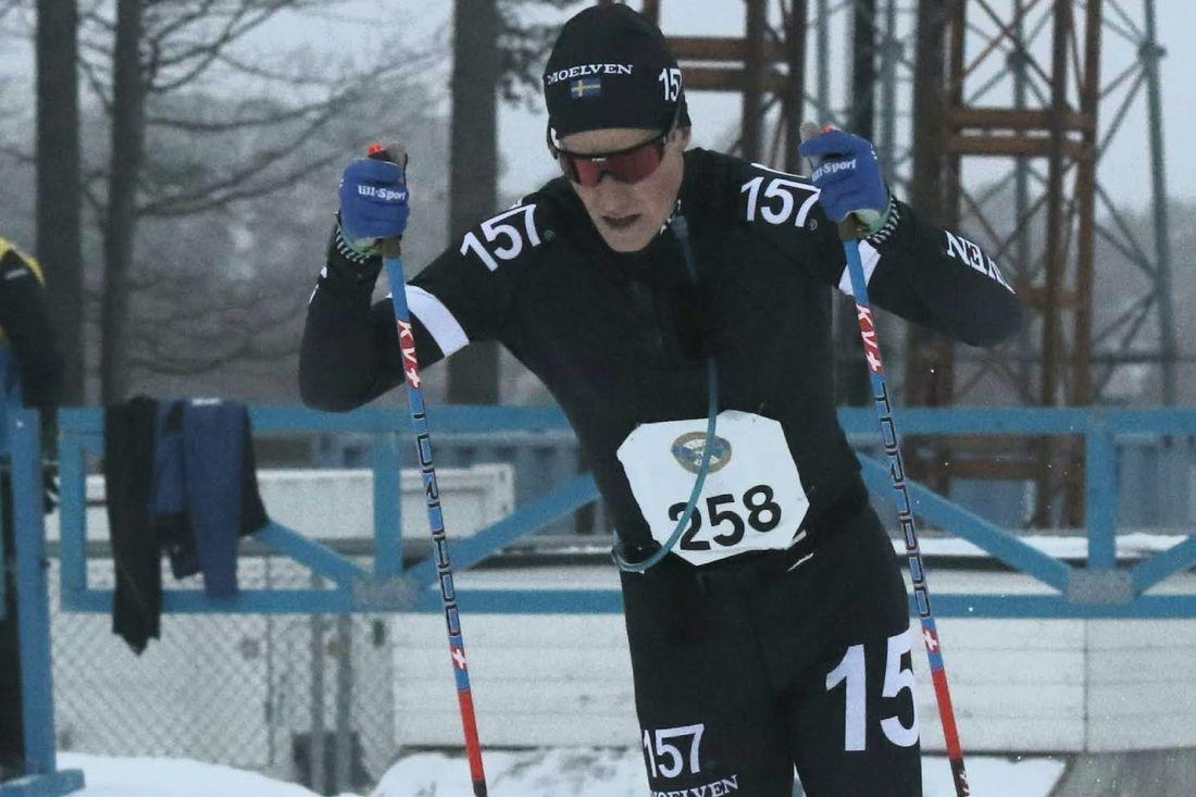 Andreas Holmberg vann Östersund Ski Marathon i överlägsen stil. FOTO: Mikael Hedström.