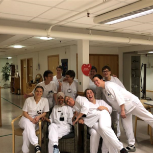 Ansatte på sykeheimen