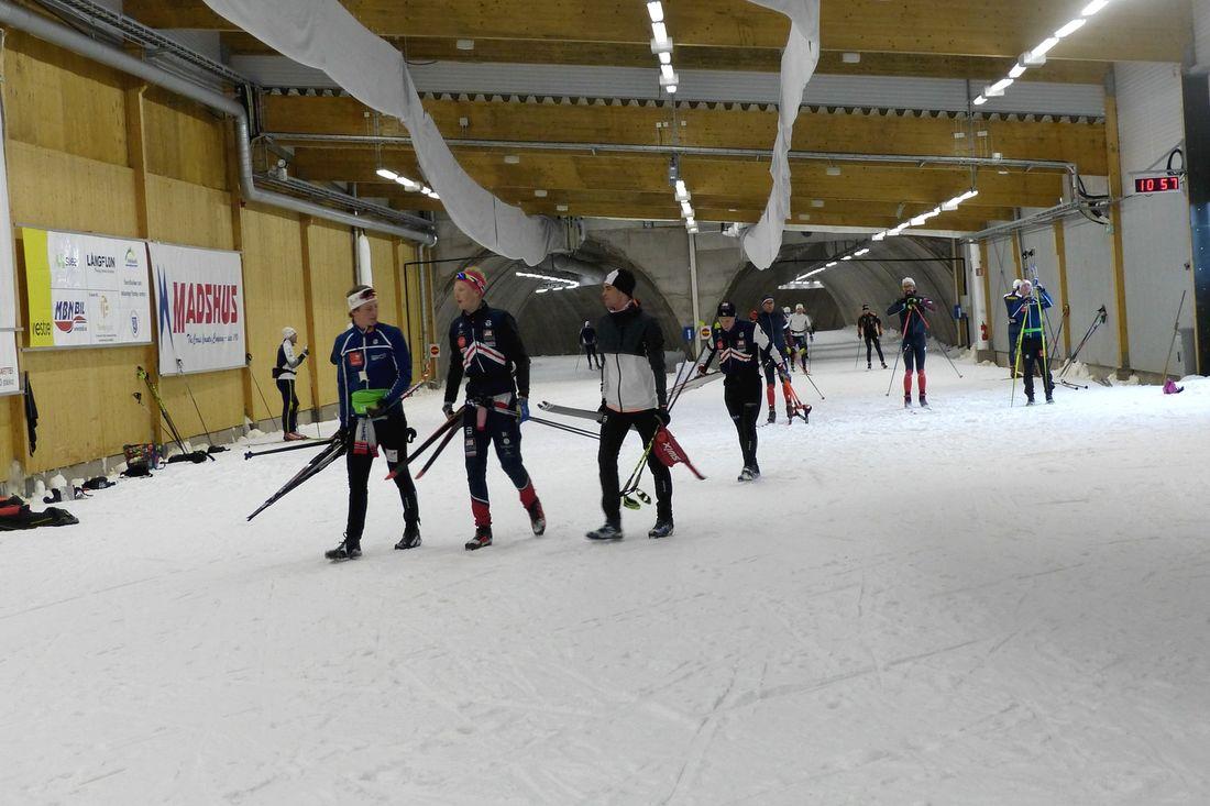 Torsby skidtunnel blir träningsarena för en grupp ryska landslagsåkare andra halvan i maj. FOTO: Johan Trygg/Längd.se.