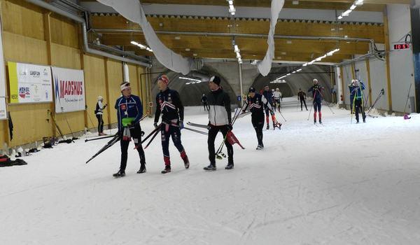 Torsby skidtunnel blir platsen för ett öppet Värmlands-DM på skidor på lördag. FOTO: Johan Trygg/Längd.se.