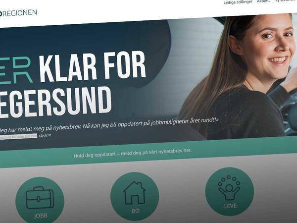 Egersundregionen nettside