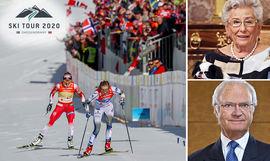 Kung Carl XVI Gustaf och den norska prinsessan Astrid, Fru Ferner, kommer närvara under Ski Tour 2020.