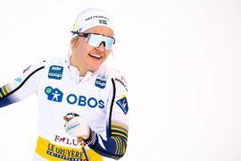 Linn Svahn blir spännande att se i Ski Tour 2020 som drar igång på lördag 15 februari. FOTO: Bildbyrån/Simon Hastegård.