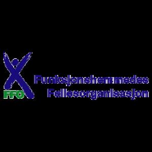 Logoen til Funksjonshemmedes fellesorganisasjon