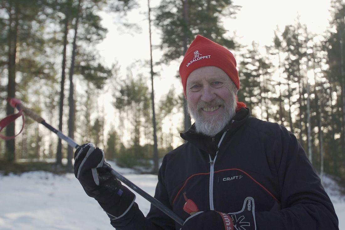 Åke Wänn från Falun har åkt samtliga Öppet Spår och 40-årsjublierar tillsammans med loppet nästa helg. FOTO: Vasaloppet.