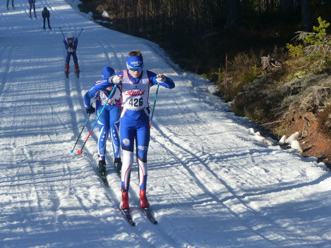 Ville Jutterdal tog täten direkt ut från start i H 11-12. FOTO: Johan Trygg/Längd.se.