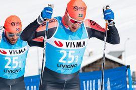 Oskar Kardin ser ut att missa årets Vasalopp på grund av hjärnskakning. FOTO: Visma Ski Classics/Magnus Östh.