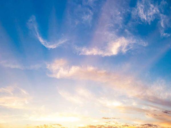 Blå himmel