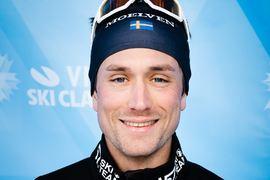 Marcus Johansson är bästa icke norrman i Visma Ski Classics inför Vasaloppet. Västgöten har två pallplatser hittills i vinter. Blir det en tredje på söndag? FOTO: Visma Ski Classics/Magnus Östh.