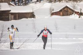 En riktig femmil kommer att avgöras i Norra Garberg norr om Mora. Bilden från loppet för två år sedan i Sörskog. FOTO: Adam Johansson/AdaMediaMedMera.