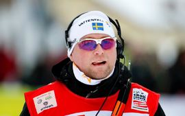 Joakim Abrahamsson blir tränare och verksamhetsledare för längdåkaren, skidskyttar och skidorienterare som studerar på Luleå tekniska universitet. FOTO: Bildbyrån/Nils Jakobsson.