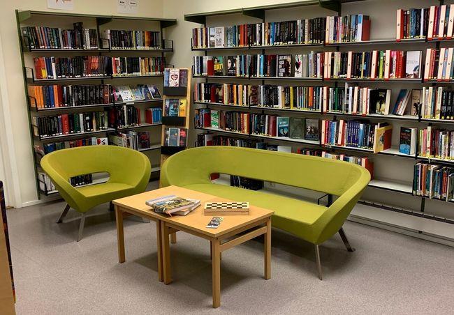 Bibliotek sofa