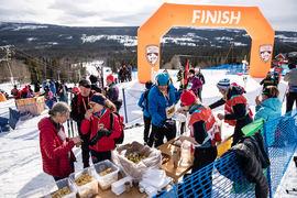 På lördag är det dags för skidfest under Årefjällsloppets arrangemang. FOTO: Anette Andersson.